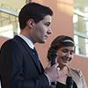 Les étudiants organisateurs et mâitres de cérémonie